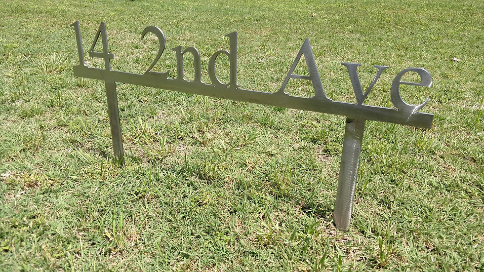 Custom Address Signs