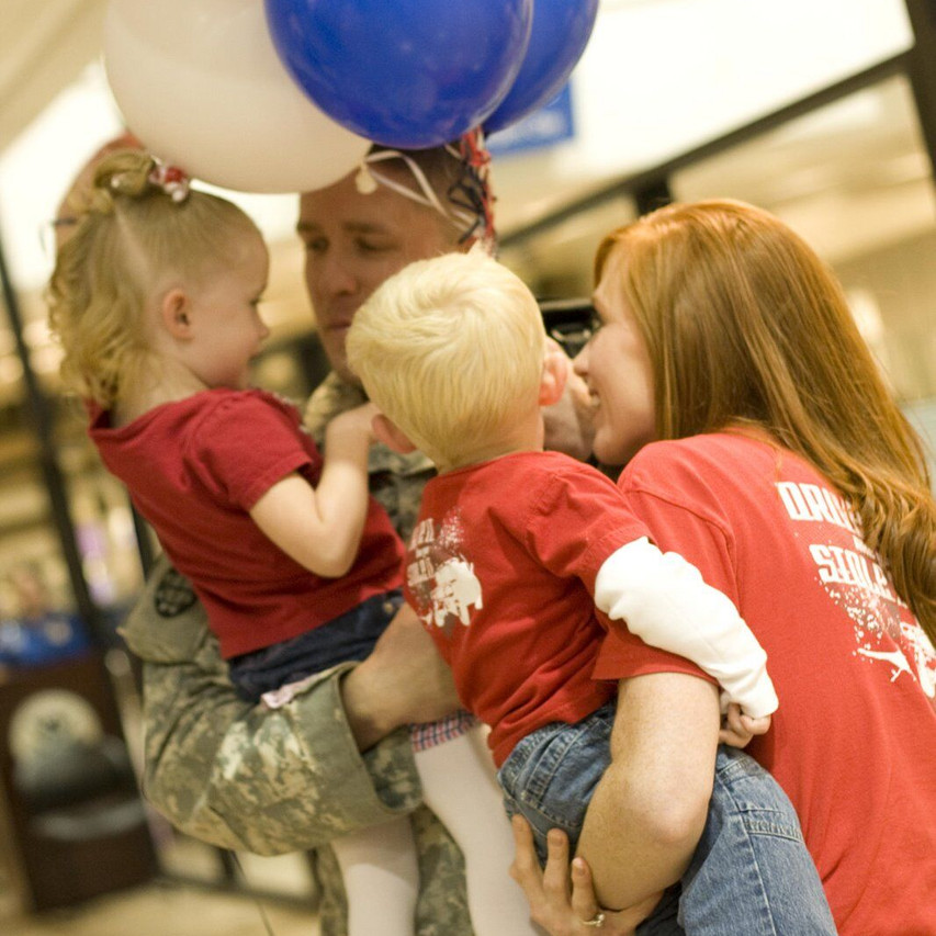 1 Lieutenant Brent Taylor returning home from two consecutive deployments to Iraq - October 2008