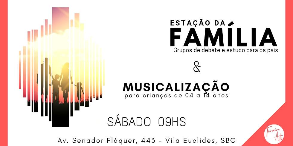 Musicalização e Classe para a Família