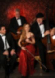 Sarah Piorkowsky Geige Saitensturm Band für Ihre Veranstaltung