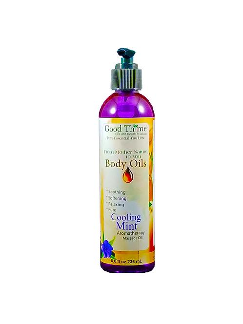 Cooling Mints Massage Oil 8 oz