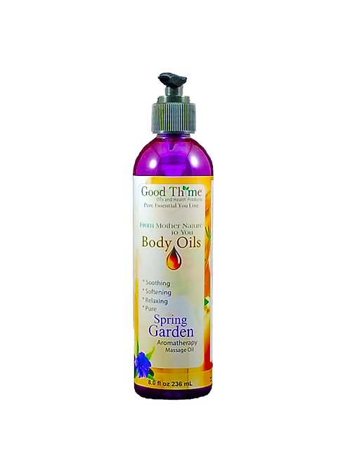 Spring Garden Massage Oil 8 oz