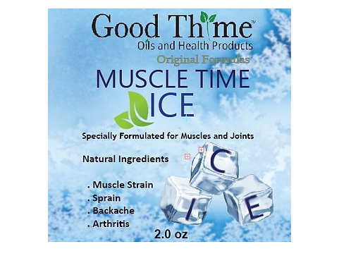 Muscle Ice Time 2.0 oz