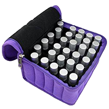 Purple Soft Essential Oil Caring Case 30 Bottles