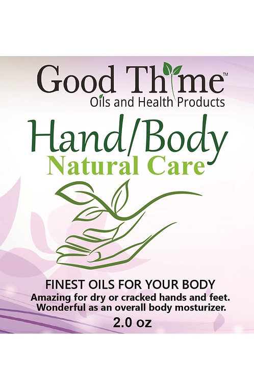 NEW Hand and Body Care 2.0 oz