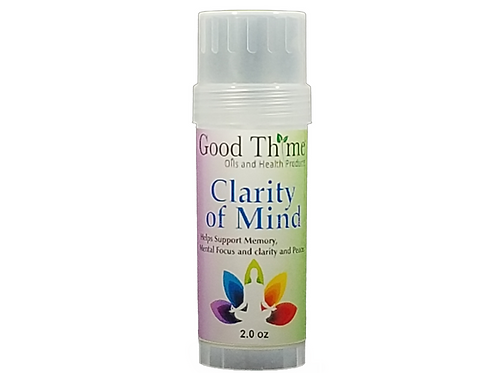 Clarity of Mind Balm 2 oz.