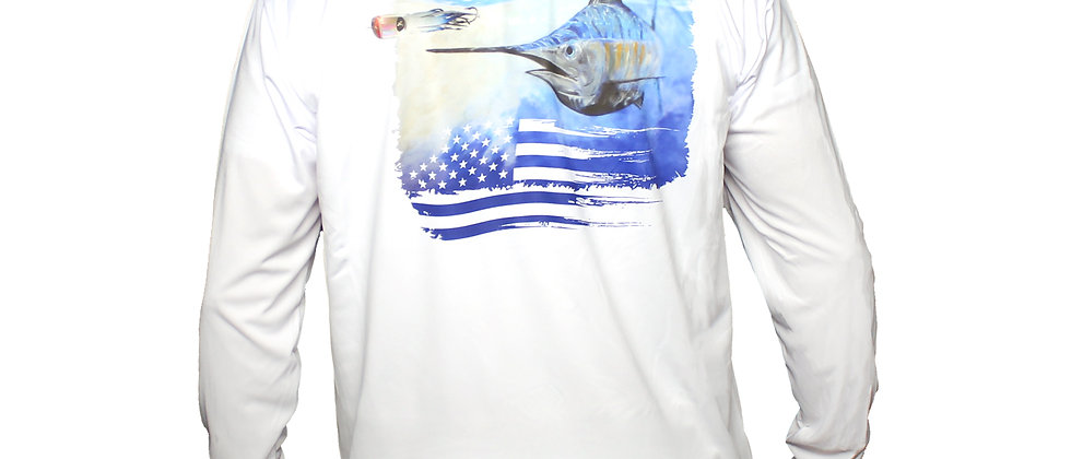 Marlin Long Sleeve Dri-Fit Shirt
