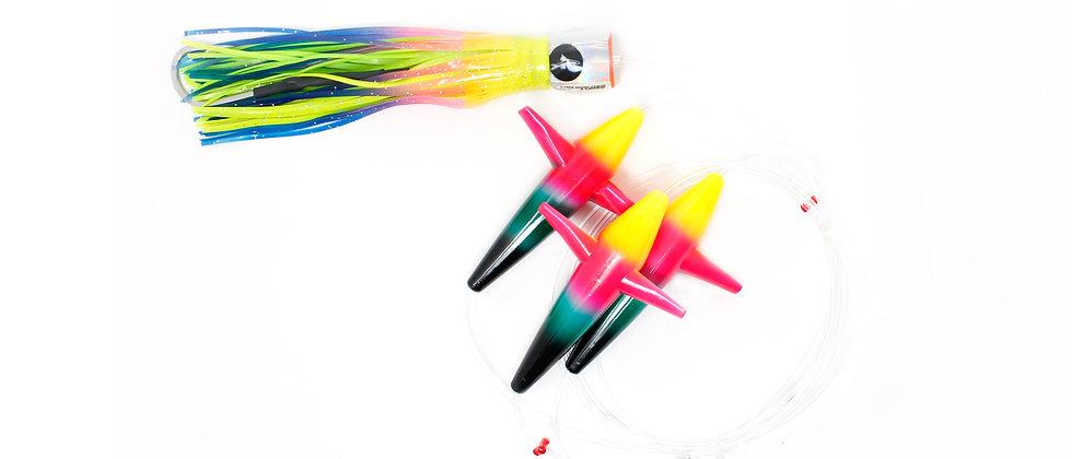 Daisy Chain - 3 Bird -Rainbow