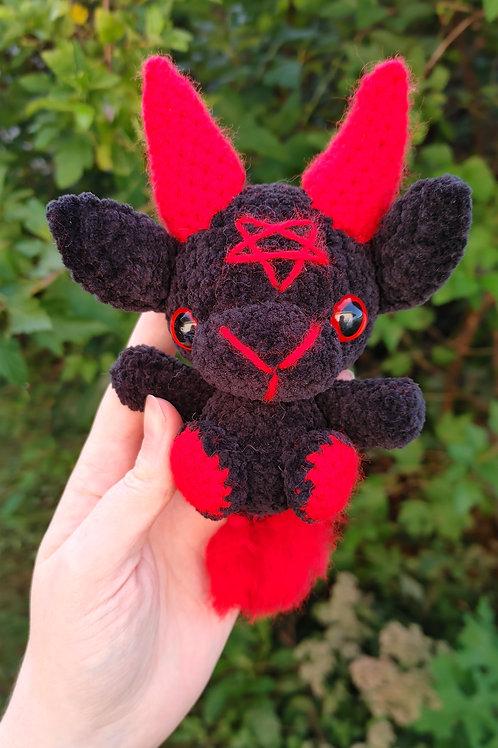 Velvet (Red) Black Phillip Doll