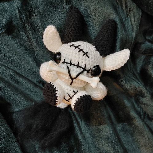 Bone Baby Black Phillip (Medium Doll)