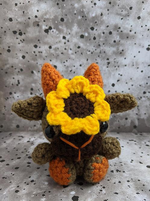 (S) Sunflower (Orange) Black Phillip