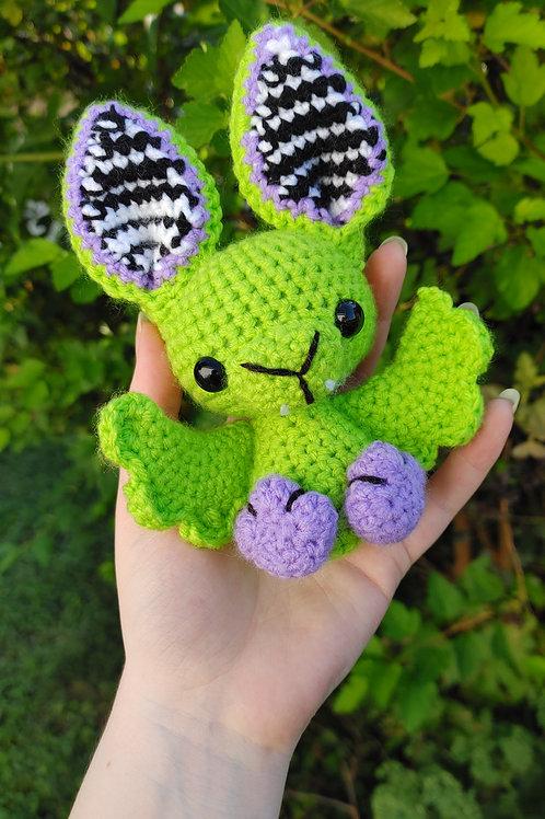 Green Beetlejuice Bat Doll