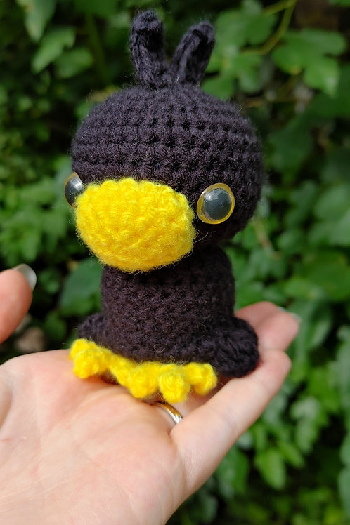 Small Crow Doll