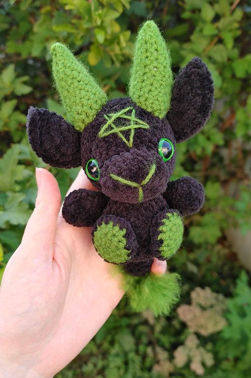 Velvet (Green) Black Phillip Doll