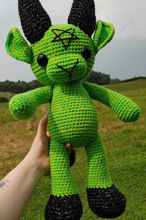 Neon Green Black Phillip (Large Doll)