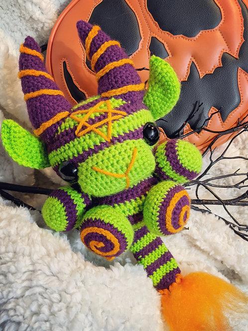 (L) Spooky Circus Green/Purple Black Phillip