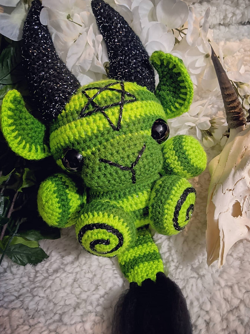 (L) Spooky Circus Green/Green Black Phillip