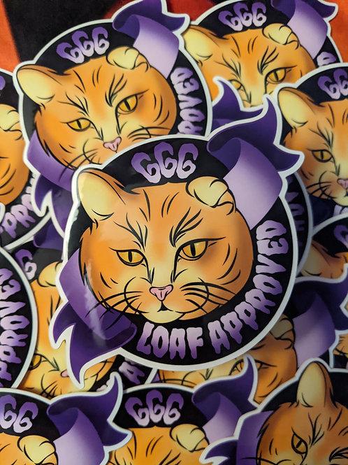 Loaf Approved Sticker