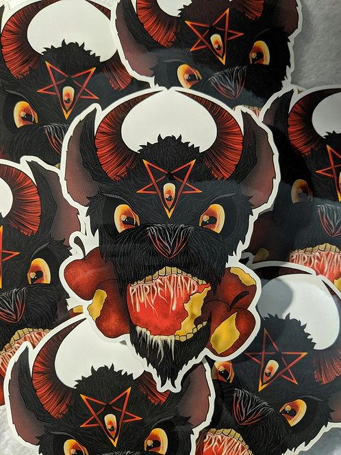 Black Phillip Sticker