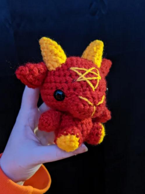 Gryffindor Black Phillip (Small Doll)