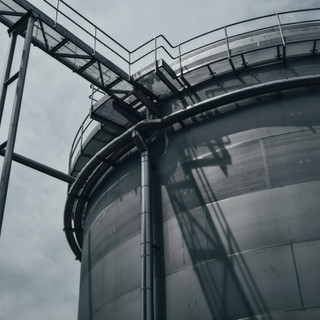 Design and implementation of a biogas treatment unit