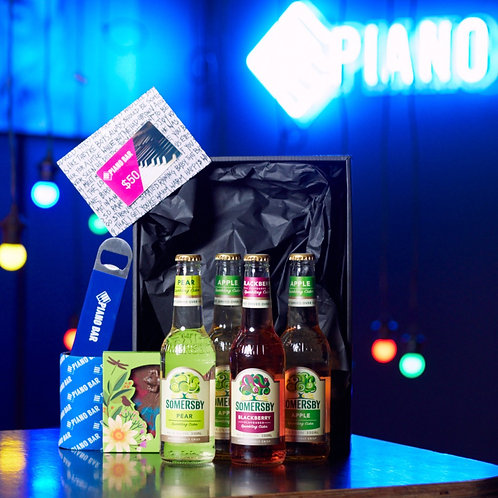 Piano Bar Gift Pack (Somersby Cider Pack)
