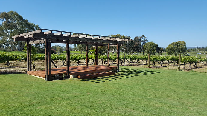 Commercial Landscaping Sandleford Winery