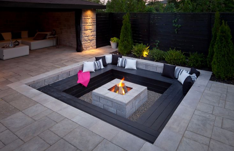 Tailor-made Fire Pit Area
