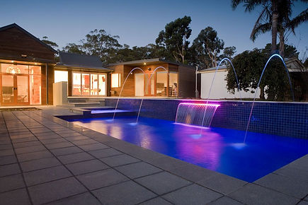 Perth Swimming Pool Water Feature