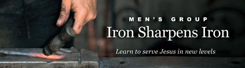 Iron Sharpens iron men's group learn to