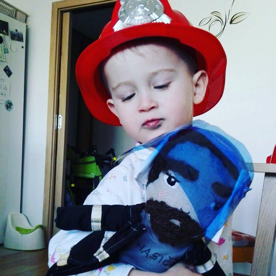 Vojta and the Fireman Jozin