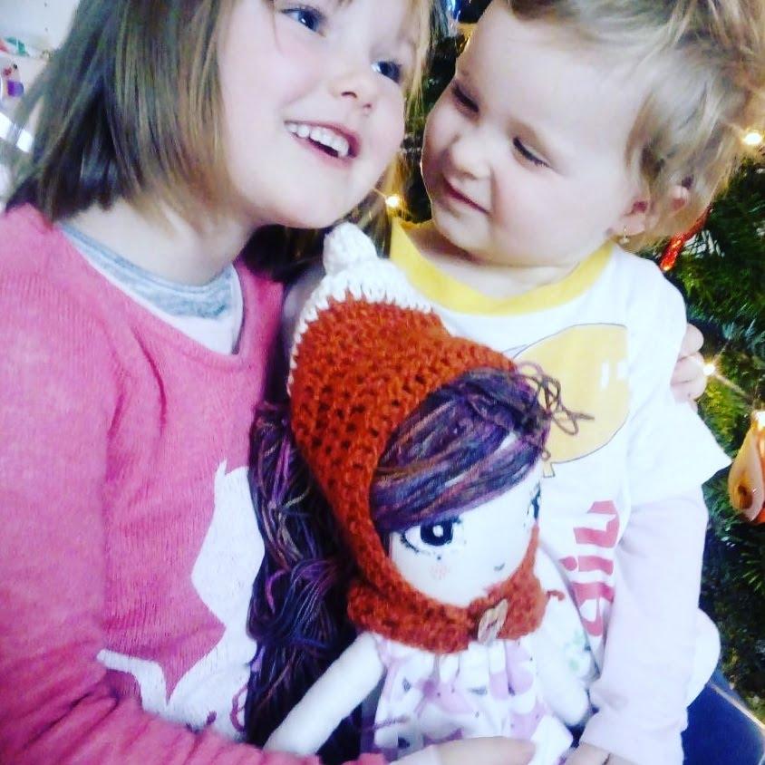 Nina with Emma and Victoria