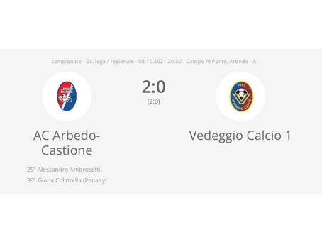 AC Arbedo-Castione - Vedeggio Calcio