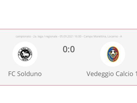 FC Solduno - Vedeggio Calcio 0:0
