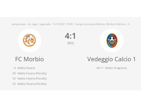 FC Morbio - Vedeggio Calcio 4:1