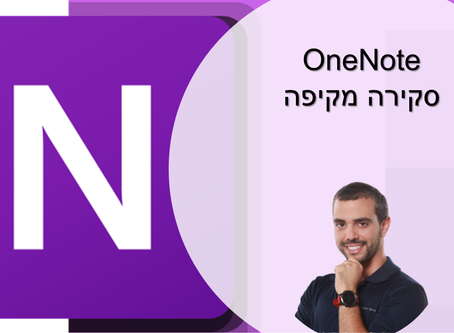 onenote. do this right.