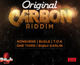 """Original Carbon"" riddim, Shams The Producer's return to the dancehall space after a couple years hiatus. This EP features some of the hottest arists in the genre including Konshens and Bunji Garlin."