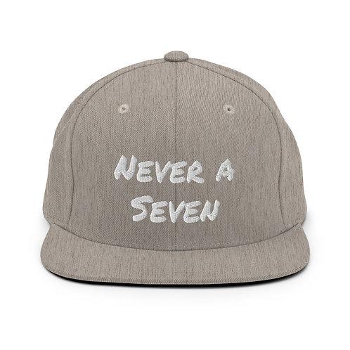 Never a Seven Snapback