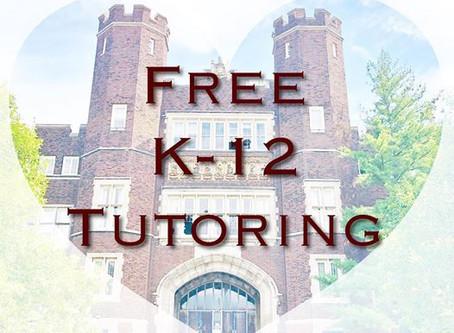 Free K-12 Tutoring
