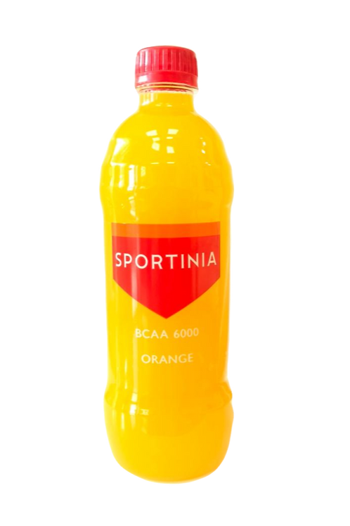 Спортиния ВСАА Апельсин Объём 500 мл. Упаковка 12 бут. Цена 72,5  руб/бут