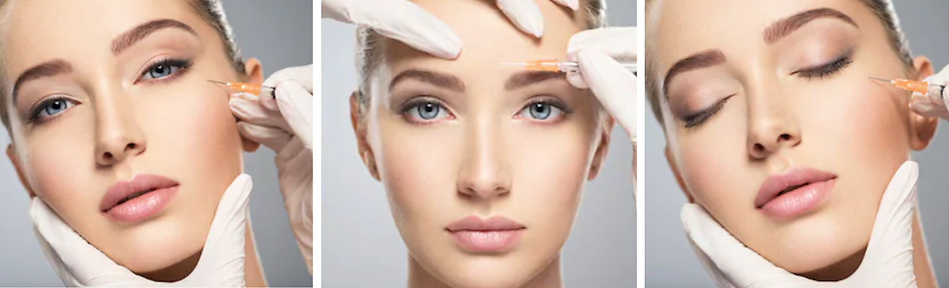 Lady getting Injectables