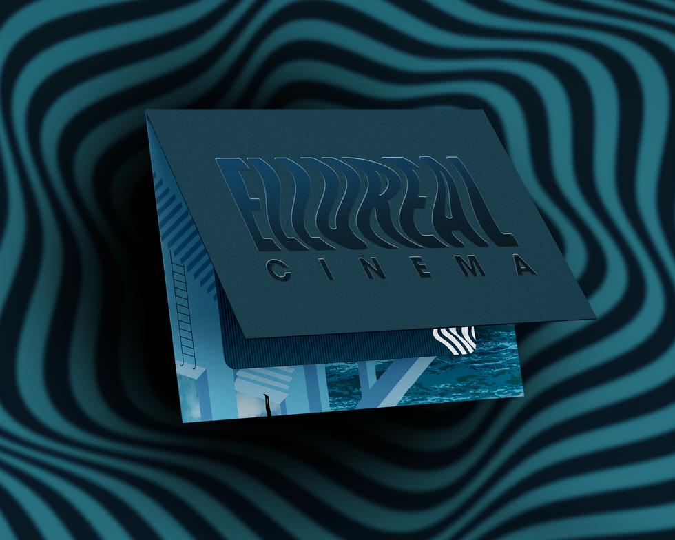 Ellureal Cinemas Loyalty Card Packaging