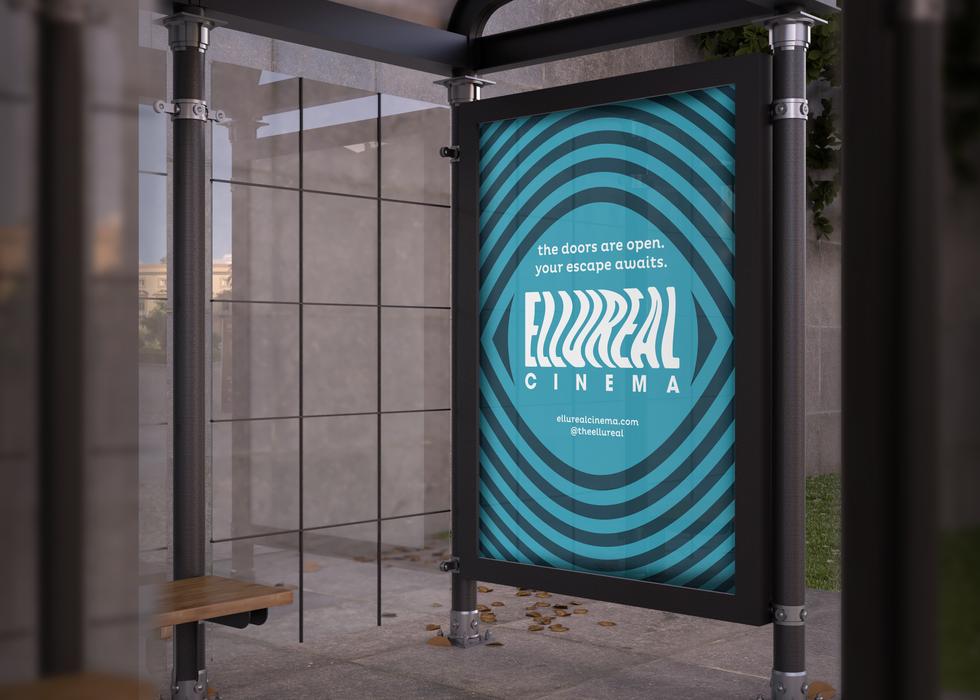 Ellureal Cinemas Marketing Poster AdShell B