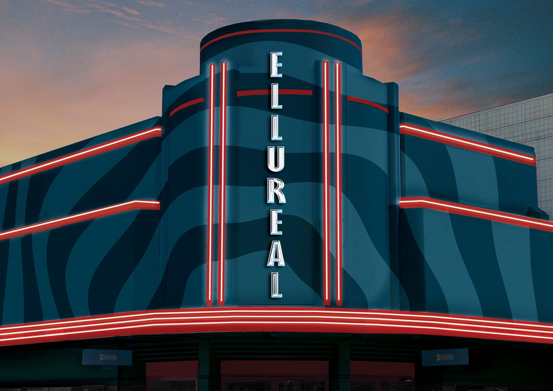 Ellureal Cinemas Exterior