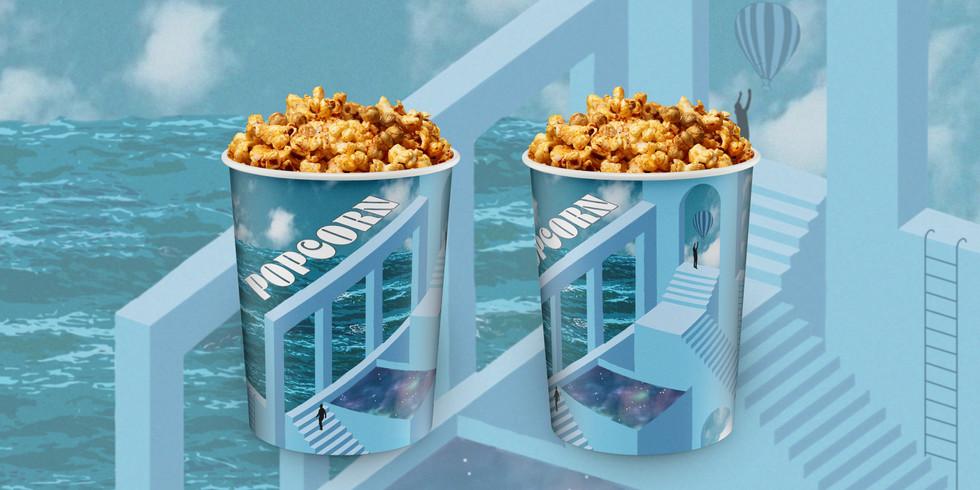 Ellureal Cinemas Popcorn Bucket