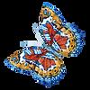 Mariposa acuarela 4