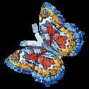 Watercolor Butterfly 4