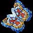 Aquarel 4 van de Vlinder