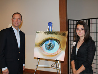 """28th District Congressional Art Competition """"People's Choice Award"""""""