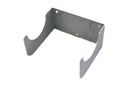 Edelstahl-Formteile Flanschrohr-Halterun